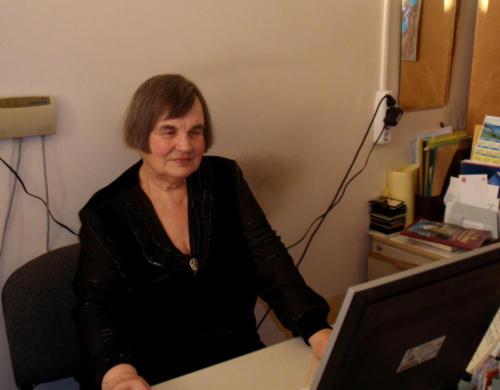 Л. Глотова - старший научный сотрудник