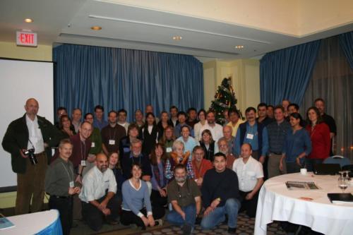 Участники м/н конференции и семинара рабочей группы по дикому оленю (CARMA). г. Ванкувер (Канада) 29 ноября-6 декабря 2007